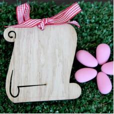Pergamena in legno